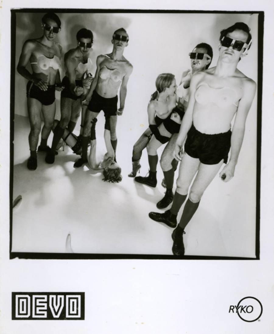 Hardcore DEVO Promo Photo by Moshe Brakha