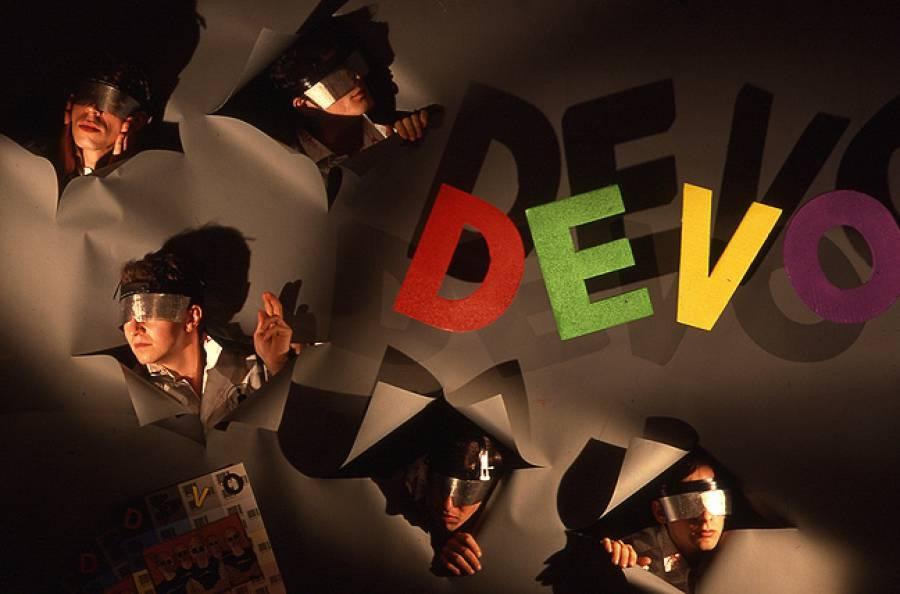 DEVO 1979 by Norman Seeff
