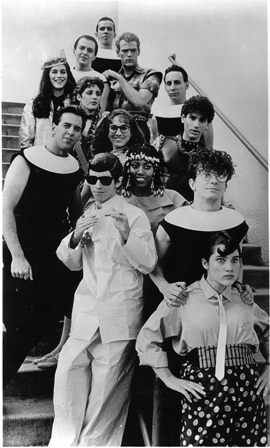 DEVO with Square Pegs Cast