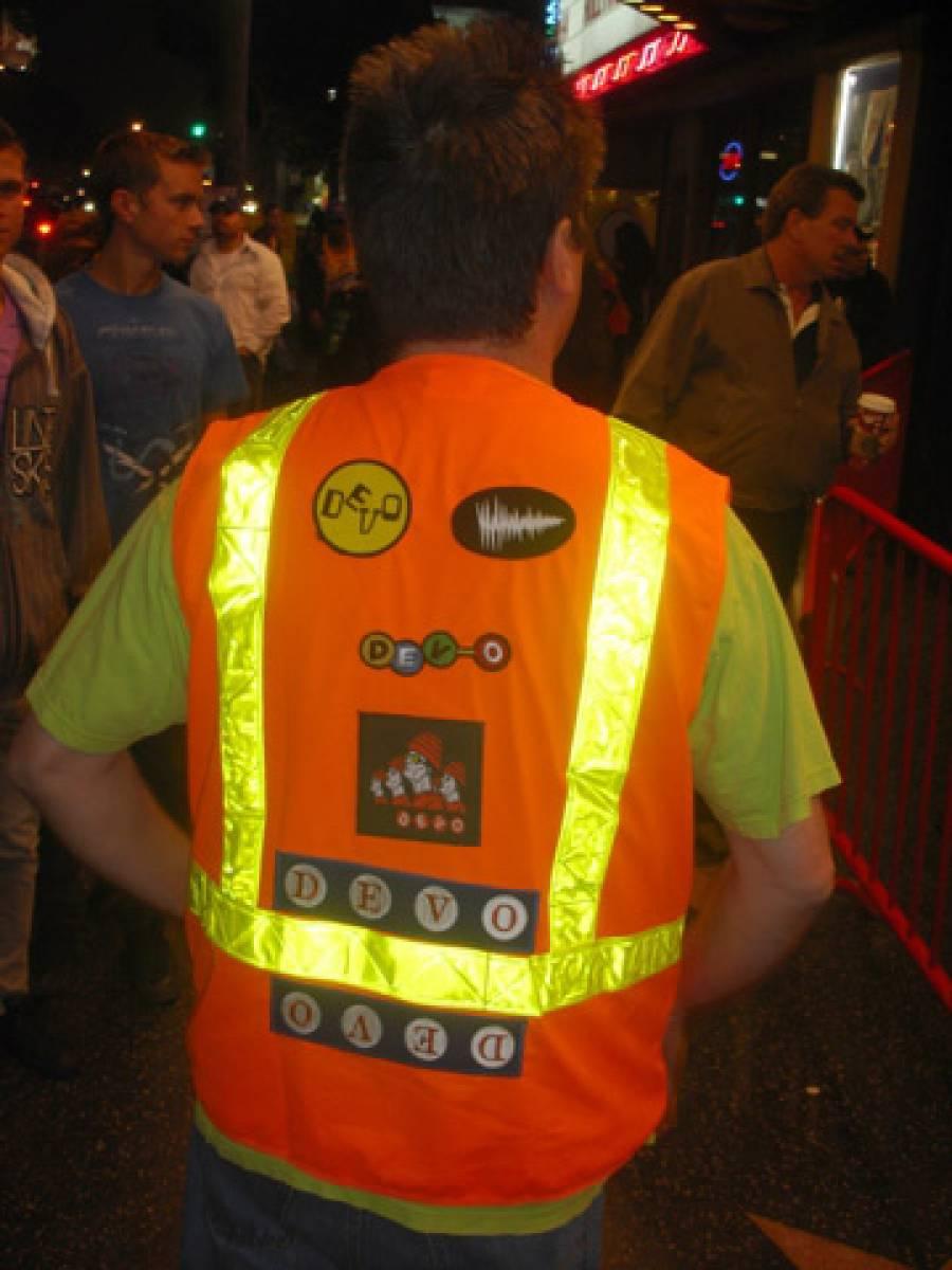 11/3/09: Custom DEVO Vest