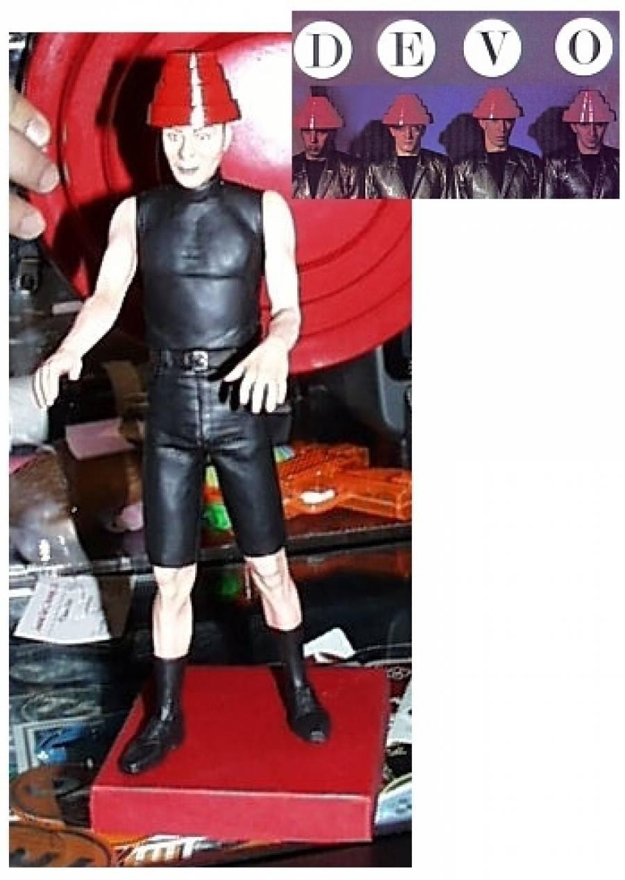 Rare DEVO Doll Prototype 2001