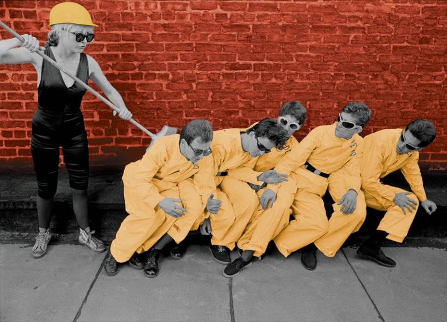 DEVO with Blondie 1977 – Photo by Chris Stein