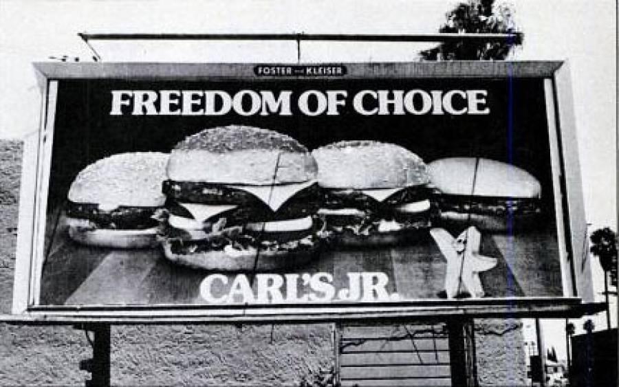 Freedom Of Choice Billboard
