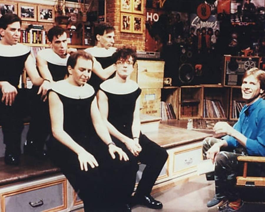 DEVO on MTV circa 1982