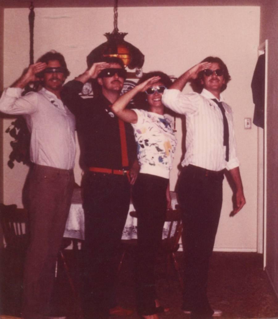 Jim Mulrooney's DEVOtee Posse 1979