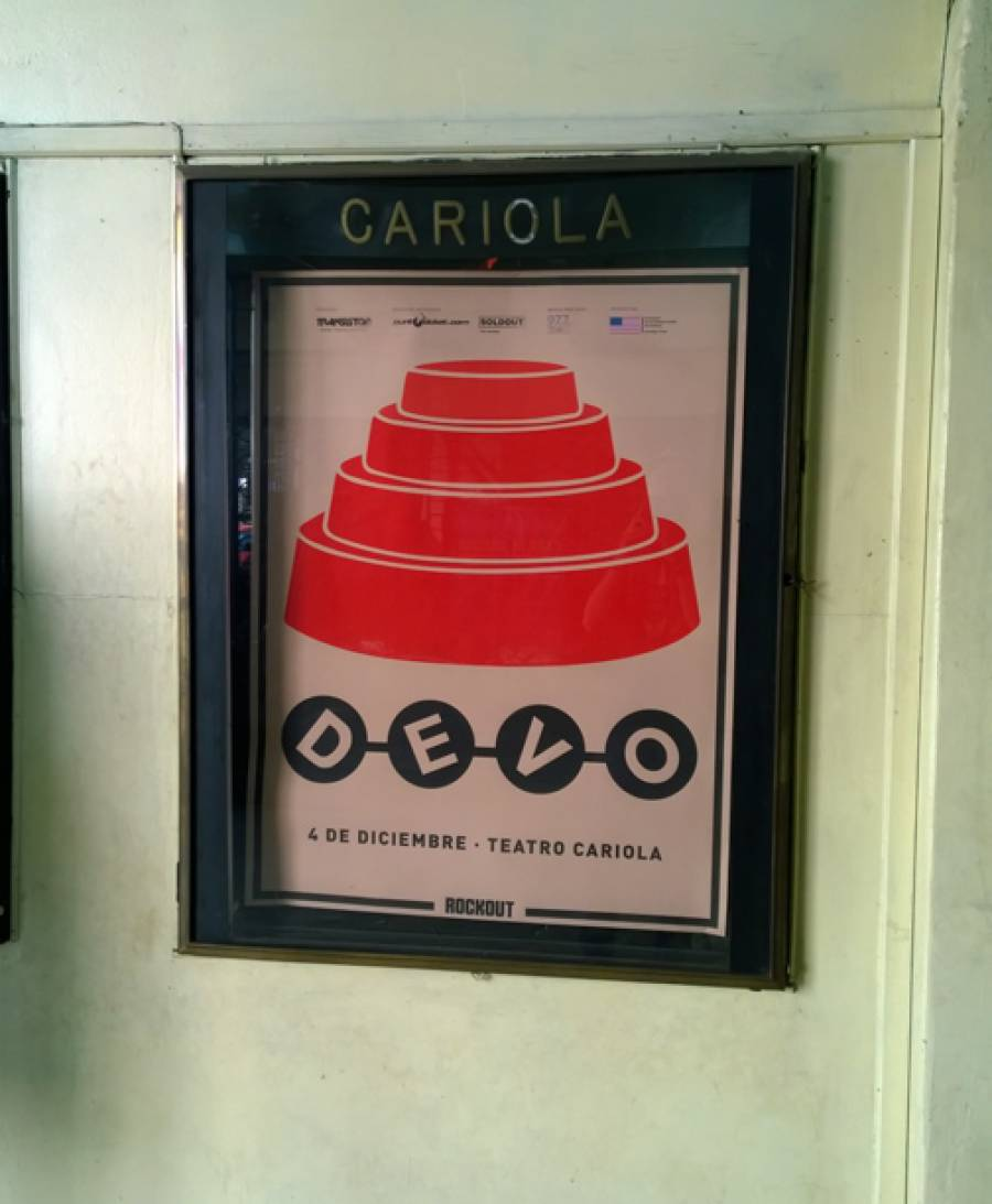 12/4/14: Show Poster at Cariola Theatre