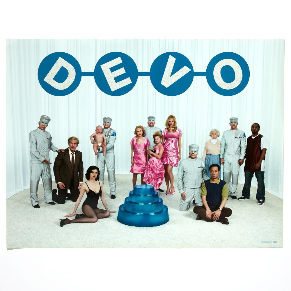 "DEVO's ""Something For Everybody"" Cast Poster"